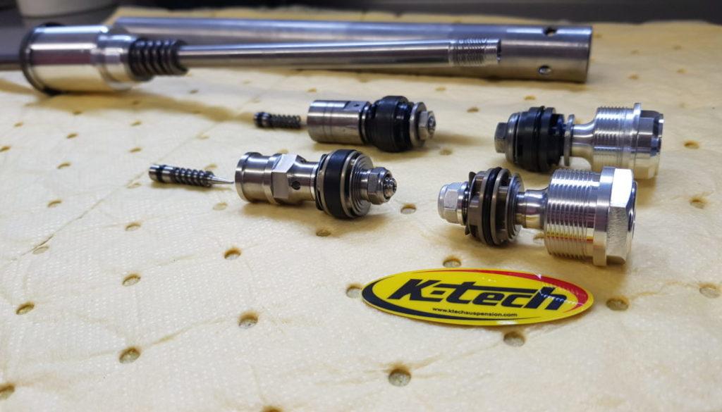 KTech SSRK fork cartridge piston kits