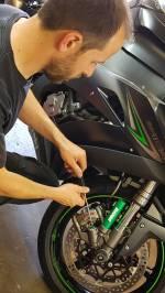 motorcycle suspension set up james packwood racing